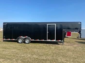 "2021 Sharp 101""X24FT Gooseneck Enclosed Car Trailer"