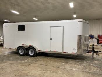 2021 Sharp 7FTX20FT Enclosed Trailer