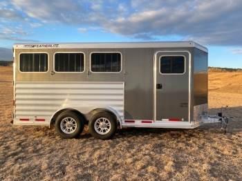 2021 Featherlite 7441 Bumper pull 3 Horse