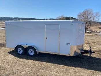 2021 Sharp 7X16 Enclosed Cargo Trailer
