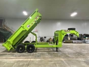 2019 MIDSOTA HV-14 Gooseneck Dump Box