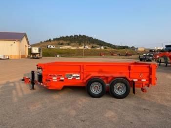2021 Midsota HV-14 Bumper Pull Dump Box