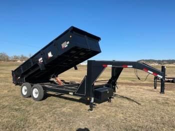 2013 BIG TEX Goose neck 16ft dump box