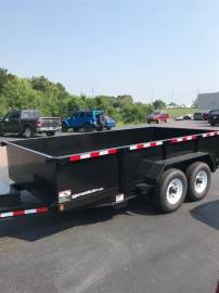 2018 D AND K TRAILERS DUMP TRAILER