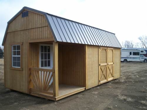 2017 OLD HICKORY BUILDINGS 10X20 Lofted Barn