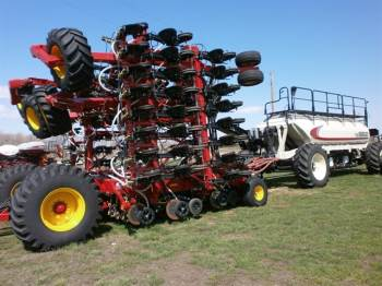2018 BOURGAULT 3720 DRILL /7700 CART