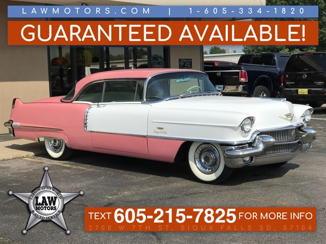 stock n527 used 1956 cadillac deville sioux falls sd
