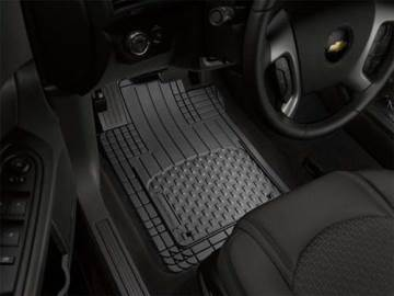 2018 WEATHERTECH UNIVERSAL ALL-VEHICLE MAT - BLACK - FRONT & REAR