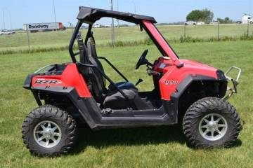 2013 POLARIS® RZR® 800 INDY RED
