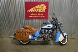 2018 INDIAN MOTORCYCLE® CHIEF® VINTAGE ABS SKY BLUE OVER PEARL WHITE