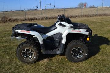 2015 CAN-AM® OUTLANDER™ XT™ 650 PEARL WHITE