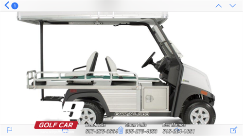 2018 Carryall 300G Ambulance