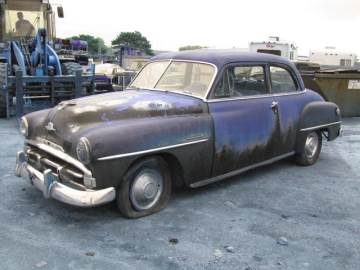 1951 PLYMOUTH SEDAN