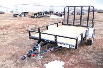 "2018 PJ 2018 PJ 77""X10FT UTILITY TRAILER"
