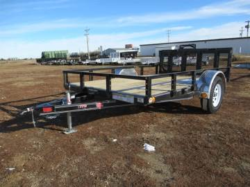 "2019 PJ 77""X10FT UTILITY TRAILER"
