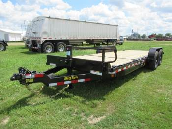 "2020 Big Tex 80""x22FT Bumper Pull Tilt Carhauler"