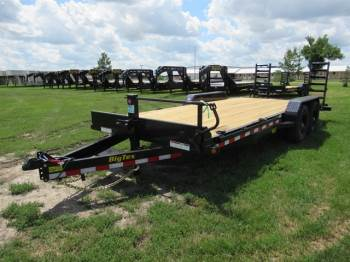 "2020 Big Tex 83""x20FT Bumper Pull Carhauler"