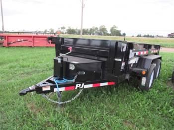 "2020 PJ 60""x10FT Bumper Pull Dump Trailer"
