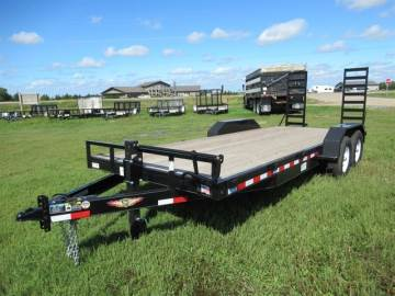 2017 H & H TRAILER 20 FT CARHAULER