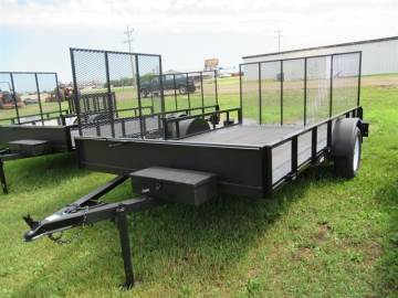2020 VERNS 7FTX12FT UTILITY TRAILER