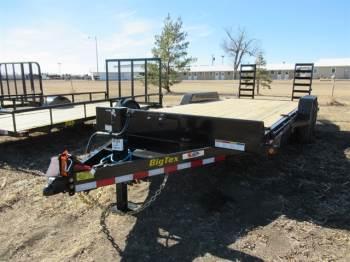 2021 Big Tex 20FT Bumper Pull Carhauler