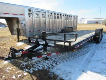 2016 Big Tex 22FT Bumper Pull Carhauler