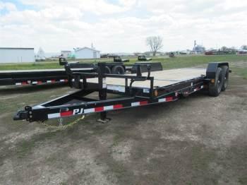 """2021 PJ 72""""x20FT Bumper Pull"""