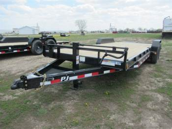 "2021 PJ 83""x22FT Equipment Trailer"