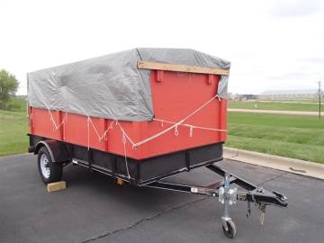 2017 CARRY ON TRAILERS 5 X 10