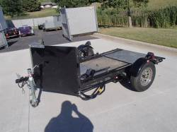 2013 KENDON 6X9 2UP CYCLE TRAILER