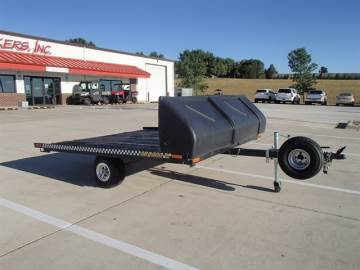 1992 HOMEMADE 2 PLACE SLED TRAILER