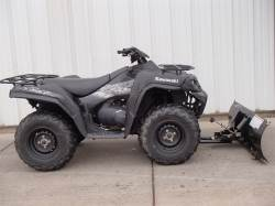 2010 KAWASAKI BRUTE FORCE 750I W/WINCH & PLOW
