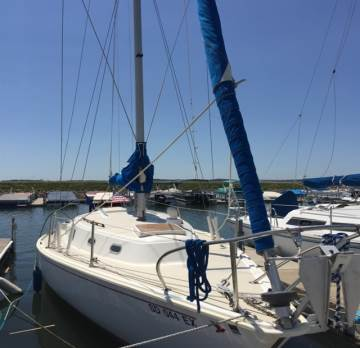 1973 PEARSON 30FT SAILBOAT