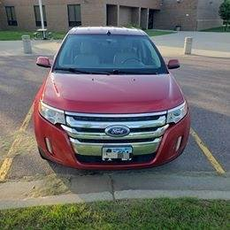 2012 FORD EDGE WITH AWD