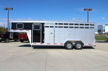 2018 EXISS 7X20 STOCK COMBO TRAILER