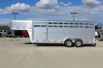 2018 EXISS 7X20 STOCK TRAILER