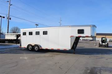 2008 SOONER 7X22 GN STOCK TRAILER