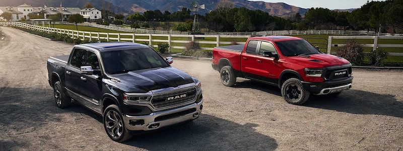 2019 RAM 1500 vehicles