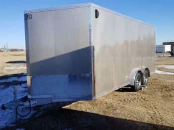 2018 EZ HAULER 7.5x18ft Enclosed