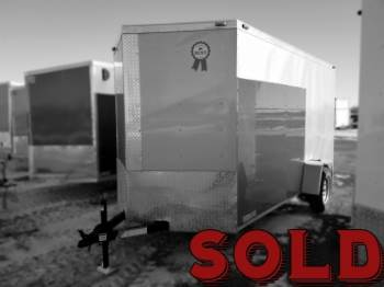 2018 Americas Best 6x12ft Enclosed SOLD