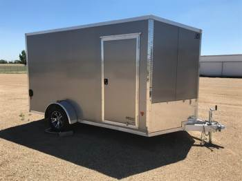 2018 EZ HAULER 7x12ft Enclosed