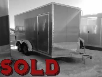 2018 EZ HAULER 7x14ft Enclosed SOLD