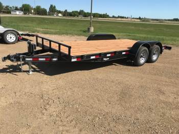 2018 H & W 7x18ft Flatbed