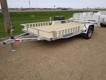 "2019 DCT 83""x14ft Aluminum Utility w/ Side Ramps"