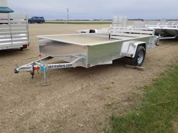 "2019 DCT 83""x12ft Aluminum Utility Solid Sides"
