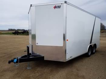 2019 AERO 8.5x16ft Enclosed