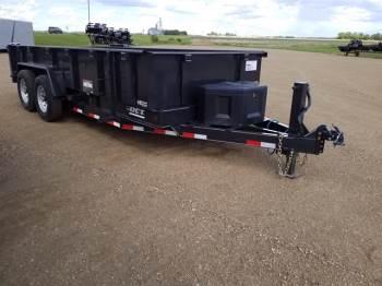 2020 DCT 7x16ft Low Profile Dump Trailer