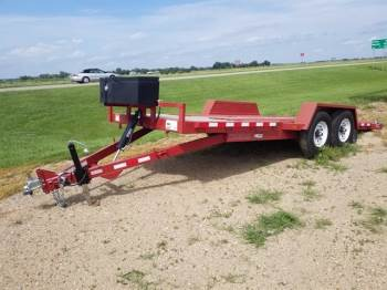 "2014 MIDSOTA 82""x20ft Full Tilt w/ Winch"
