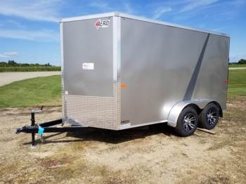 2019 Aero 7x12ft Tandem Axle Enclosed