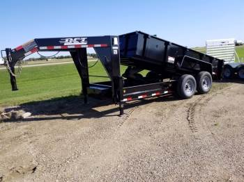 2020 DCT 7x14ft Gooseneck Dump